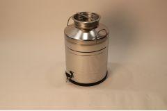 Бидон из нержавеющей стали 100 литров со сварным дном