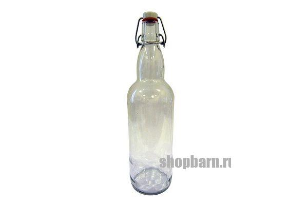 Бутылка прозрачная с бугельной пробкой 0,5 л.