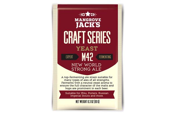 Дрожжи пивные Mangrove Jack's New World Strong Ale M42