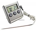 Цифровой термометр с выносным щупом и звуковым сигналом