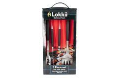 Набор инструментов Lokkii 3 прибора